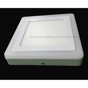 (3 steps) (6+3) W Two Color Square LED Panel Light for Surface