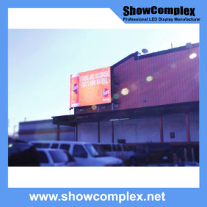 Outdoor Full Color LED Video Screen for Advertisement with Aluminum Panel (pH10 960mm*960mm)