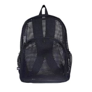 Black Color Mesh Backpack pictures & photos