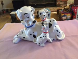 Hard Plastic Bank 101 Dalmatians with Coin Door pictures & photos