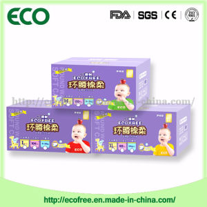 Ecofree Brand Soft Breathable & High Absorbency Disposable Baby Diaper in pictures & photos