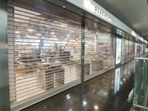 Auto Transparent Polycarbonate Shutter High End Product Store Roller Shutter Door pictures & photos