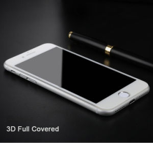 3D Carving Full Covered Extreme Clarity Tempered Glass Screen Protective Film for Smart Phone iPhone 7