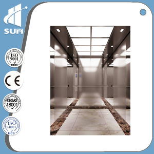 Capacity 1000kg Speed 1.75m/S Stainless Steel Residential Elevators pictures & photos