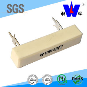 10W Cement Ohm High Load Power Ceramic Wirewound Resistors pictures & photos