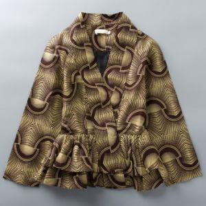 Custom Designs Manufacturer African Wax Print Women Jackets pictures & photos