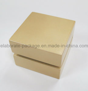 Solid Packing Wooden Logo Printing Jewelry Lacquer Box pictures & photos