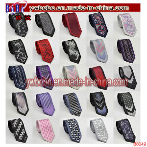 Italian Satin Wedding Ties School Neckwear Boys Elastic Christmas Gift (B8045) pictures & photos