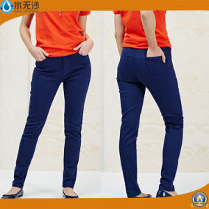 OEM New Jeans Women Skinny Jeans Blue Legging Jeans pictures & photos
