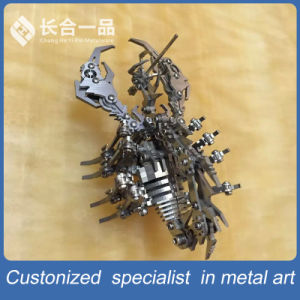 Manufacture Silver Metal Decoration Surpio Artware Display/Exhibition pictures & photos