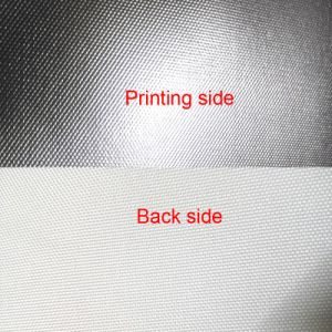 Silver Polyester Canvas Glossy for Inkjet Eco Solvent Printing pictures & photos