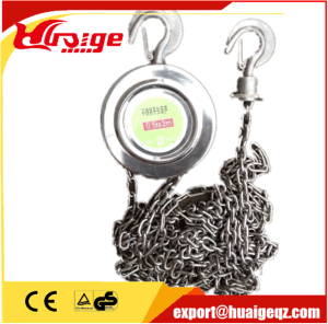 Stainless Steel Rope Pulley Block pictures & photos