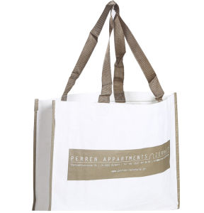 PP Fabric Handle Bag with Customized Printing