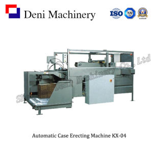 Automatic Melt Glue Box Erecting Machine Kx-04