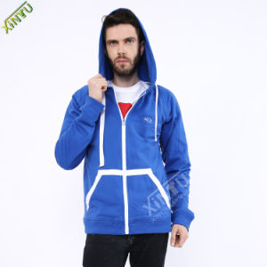 OEM Factory Customized Men′s Fashion Hoodies with Hood pictures & photos