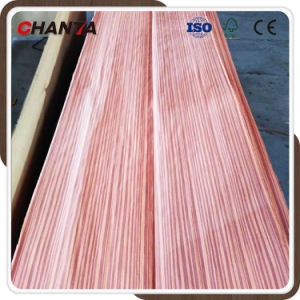 High Quality Best Price 0.2mm-0.3mm Sapele Veneer From Chanta pictures & photos