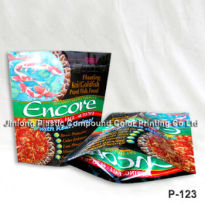 Printing Fish Food Packaging Bag pictures & photos
