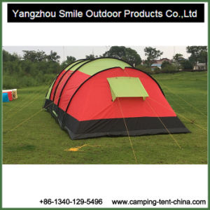 2016 New Product Two Rooms Hiking Tunnel Outdoor Family Tent pictures & photos