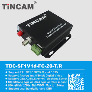 Fiber Optic Video Fiber Optical Transceiver Fiber Optic Equipment