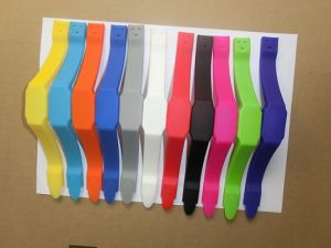 Silicone Bracelet USB Flash Drive Wih LED Lights (OM-P155) pictures & photos