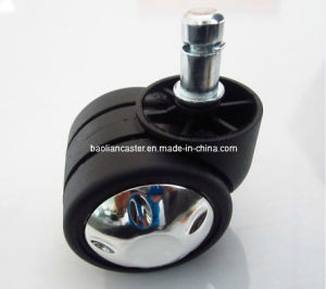 Electroplate Caster/Chair Caster for Furniture Caster (BLN-50F-38-2)