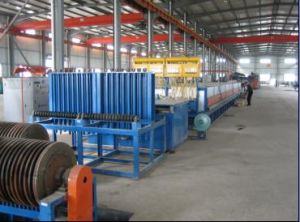 Electric Heating Steel Wire Oil Quenching Line