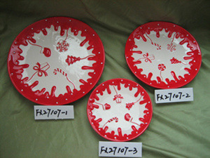 Christmas Plate, Christmas Products, Christmas Decoration