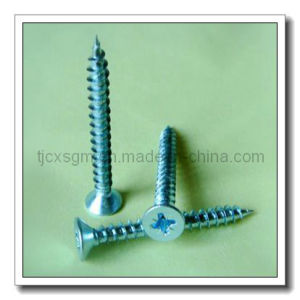 Zinc Plated of Chipboard Screw 4.0*50