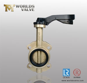 Aluminum Bronze Wafer Butterfly Valve