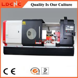 Big Spindle Bore Precision Horizontal CNC Turning Metal Lathe Machine Price pictures & photos
