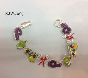Enamel Tool Bracelet with Magnet End (XJW2067) pictures & photos