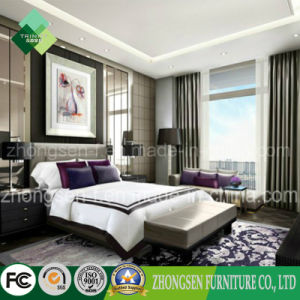 Latest Popular Royal Style Hotel Bedroom Furniture Set (ZSTF-08) pictures & photos