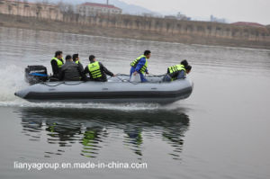 Liya 3.6-6.5m Rescue Boats Rubber Inflatable Boats with Motor pictures & photos