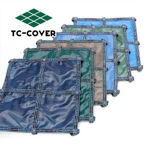 China custom made above ground swimming pool safety covers - Custom above ground pool ...