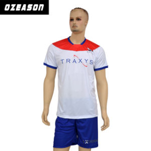 Reversible Free Design Subliamtion Soccer Football Jersey Kit pictures & photos