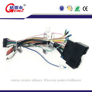 china f505 power cord auto cable wire harness car audio wire harness rh gemtcable en made in china com car audio wiring harness kits pioneer car audio wiring harness