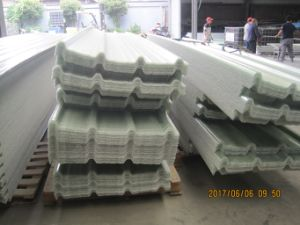 FRP Corrugated Roofing Profile, Fiberglass Sunlight Tile pictures & photos