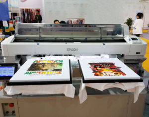 Two Pallets Available Garment T Shirt Printing Machine Fabric Printer pictures & photos