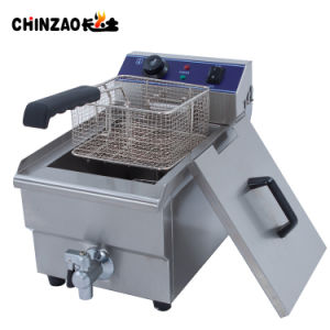 10L Single Tank Countertop Commercial Electric Deep Fryer for Sale pictures & photos