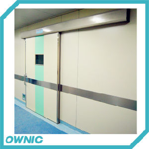 Stitching Color Automatic Sliding Door pictures & photos