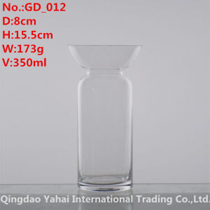 350ml Clear Colored Glass Decanter