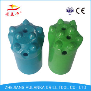 7, 8buttons 34mm Carbide Button Taperedchisel Rock Drill Bit pictures & photos