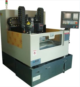 Double Spindle CNC Engraving Machine for Cell Phone Glass (RCG500D)