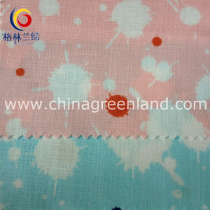 Printed Cotton Linen Fabric for Garment Shirt Dress (GLLML137) pictures & photos