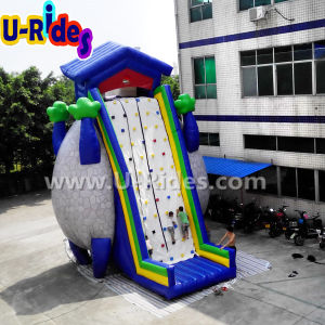 China factory Commercial Wholesale Cheap Giant Mobile Inflatable Rock Climbing Wall pictures & photos