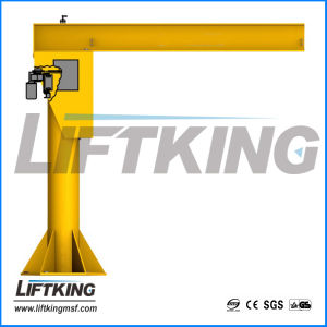 Colume Style Electric Jib Crane, Manufacturer with ISO and Ce Certification
