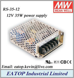 China Meanwell RS-35-12 12V 35W AC DC Mean Well Power Supply