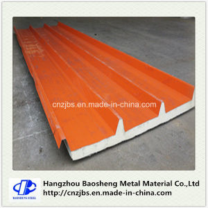 Insulated Foam PU Sandwich Panel for Portable Steel Structure Warehouse pictures & photos
