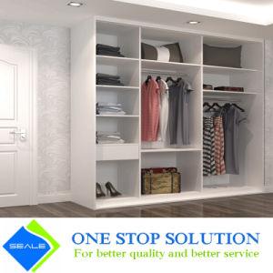 Walk In Closet Open Shelves Wardrobe Modular Furniture Closet (ZY 2034)