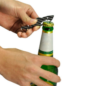 Promotional Items Carbon Fiber Key Ring Bottle Opener pictures & photos